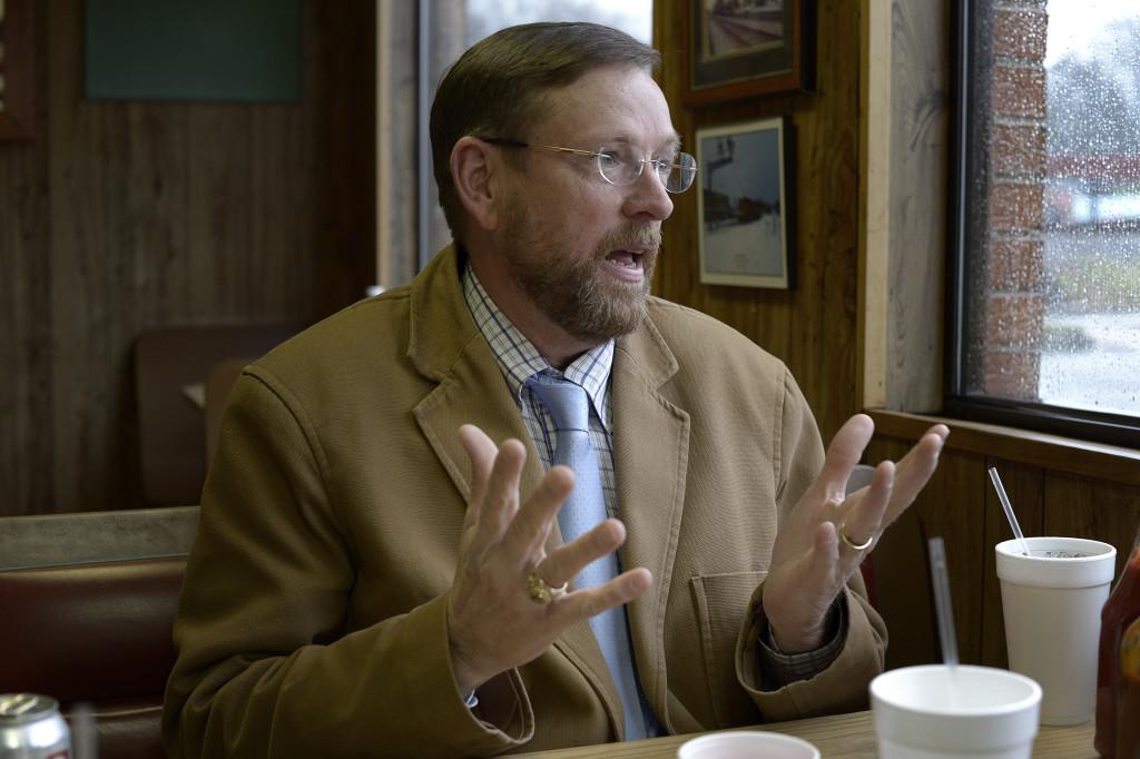 Phillip Bowers, ordförande för republikanernas Pickens.